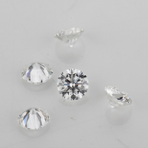 Wholesale 1 to 10 pointer Melee Cvd Loose Round Cut Diamond Round Vvs Clarity D~h Color Cvd / Hpht Diamond For Jewelry Making