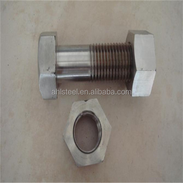 high quality 309 stainless steel bolts and nuts big size