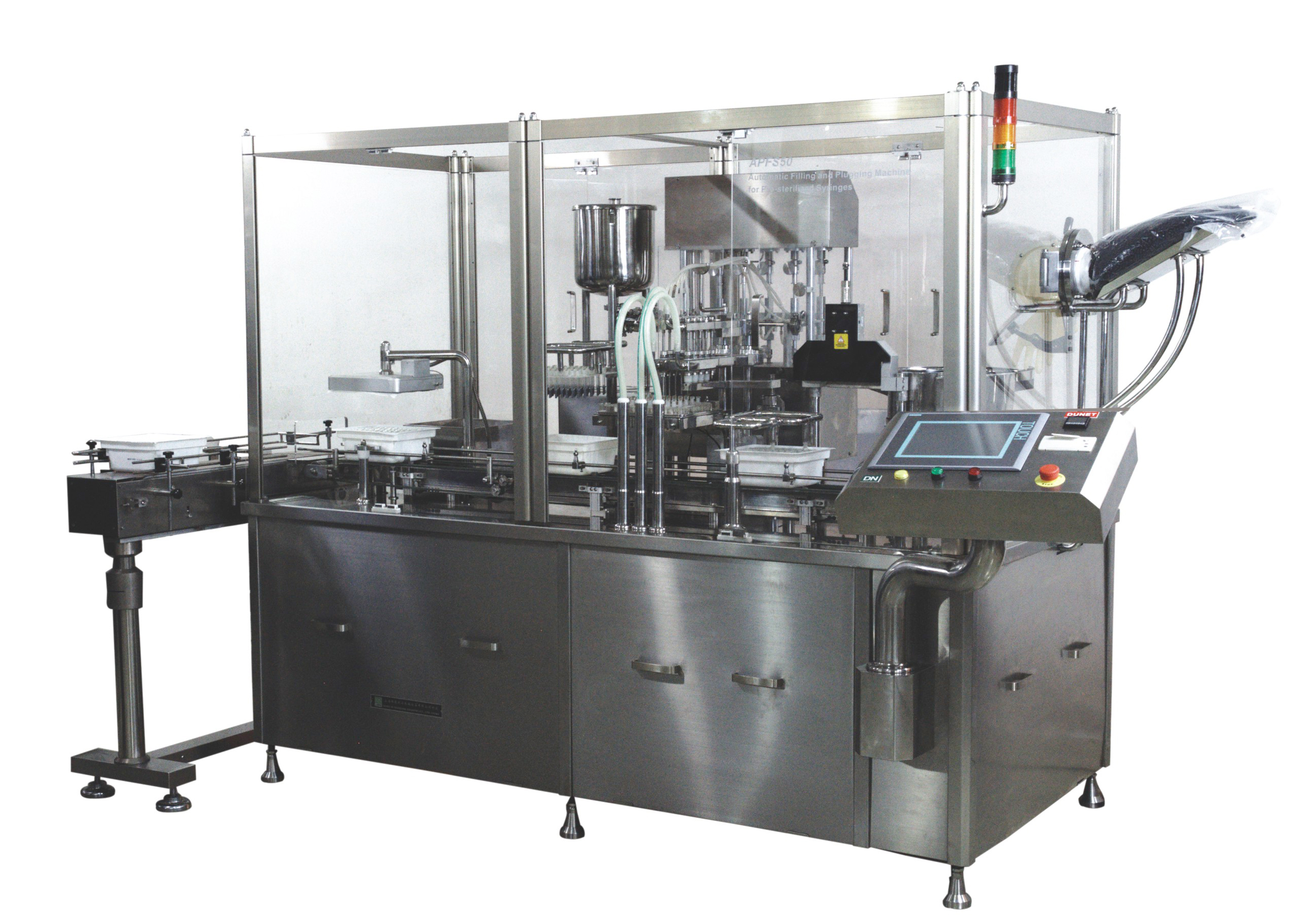 Prefilled Syringes Filling Machine