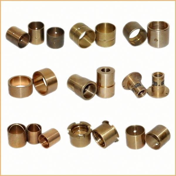 precision cnc machining hex aluminum bush casting Trunnion Shaft Bushing , Axle Bush, Part No.