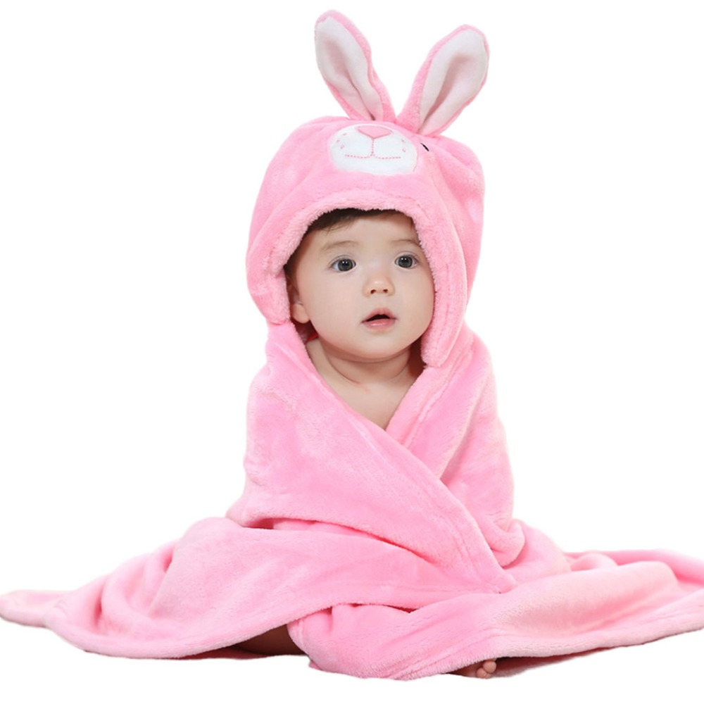 Washcloths For Sale: Hot Sale Soft Baby Towels Animal Shape Hooded Towel Lovely