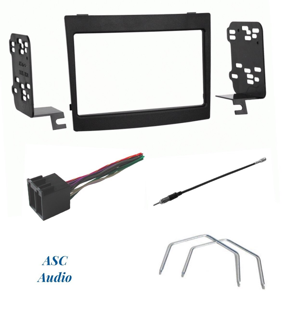 Buy Radio Stereo Install Double Din Dash Kit   Steering Control Wiring   Canbus Wire Harness