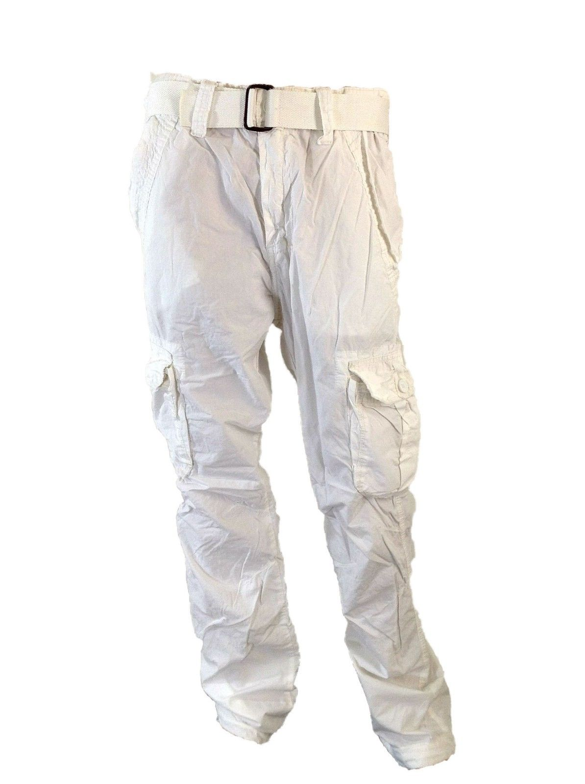 Long White Cargo Pants For Men - Buy White Cargo Pants For Men ...