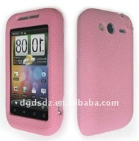 Silicone mobile phone skin for HTC Wildfire