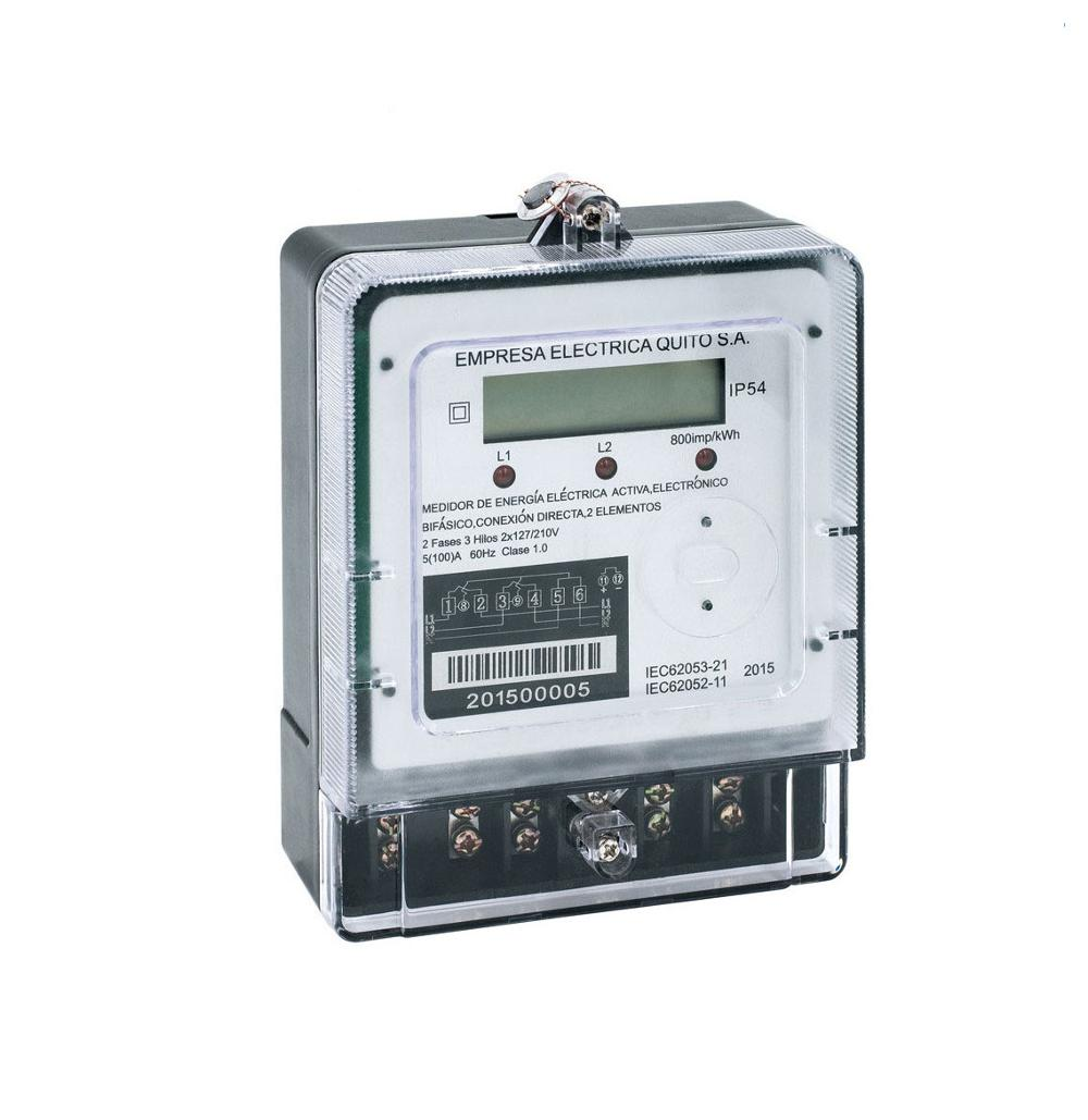 Factory Wholesale Two Phase 3 Wire Electricity Digital Amp Volt Watt Meter
