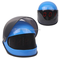 Unique Helmet Digital Clock, Christmas gifts , promotion gifts