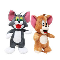 St jerry cat and tom mouse US famous animation plush toys