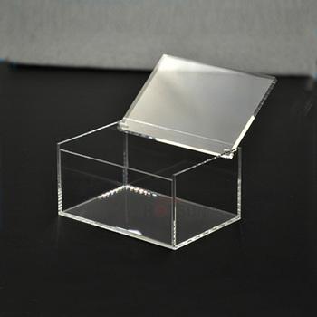 Plexiglass Rectangular Box Acrylic Box With Hinged Lid Buy Acrylic