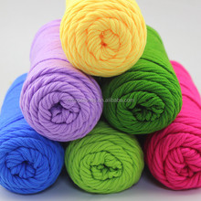 Soft 8ply The love of cotton knitting yarn thick yarn for baby use