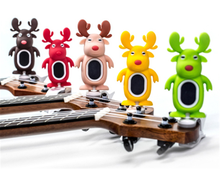 Wholesale colorful and various styles high quality cute cartoon guitar /ukulele tuner