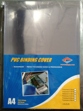 binding machines' accessories,transparent PVC binding book cover
