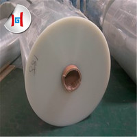 white transparent polyester film 125 micron clear polyester film