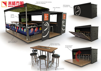 Shipping Container Workshop With Hydraulic System Cafe