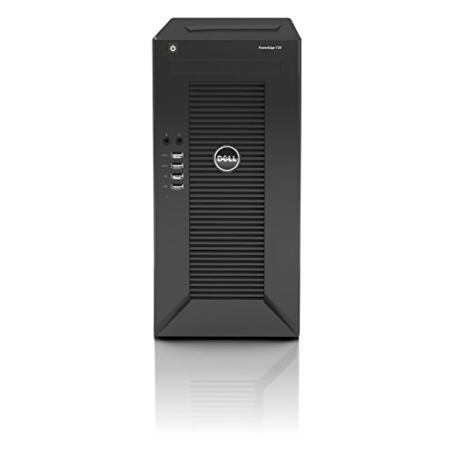Dell PowerEdge T20 Mini Tower Server - Server - MT - 1-way - 1 x Pentium G3220 / 3 GHz - RAM 4 GB - non-hot-swap - HDD 500 GB - GigE - no OS - Monitor : none.