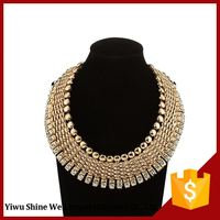 Fashion Accessories Attractive Style Gold Plated Alloy Necklace Women