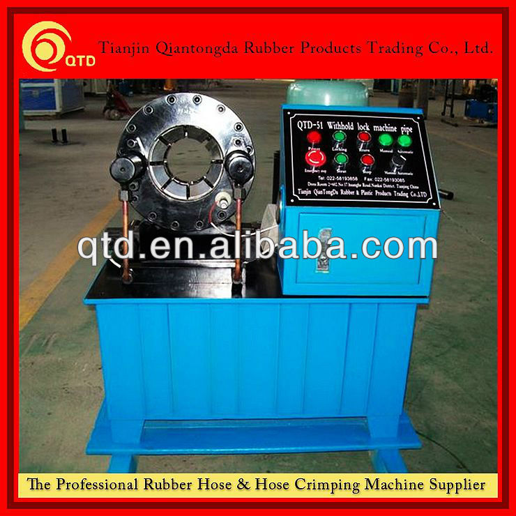 "China big promotion of QTD 2"" manual hydraulic hose crimping machine with CE Certificates!"