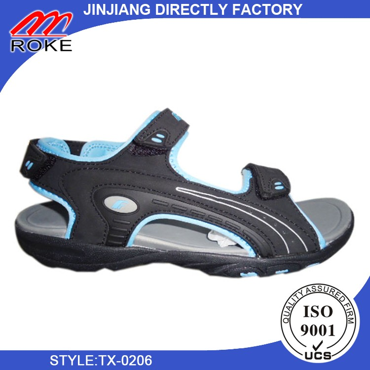 New Mens Leather Beach Sandals Shoes Outdoor Sports Fisherman Shoes