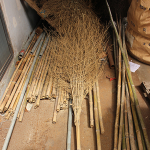 Wholesale Wooden Handle Corn bamboo garden Sorghum Broom