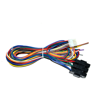 custom cable auto 5 din speaker wiring harness