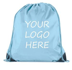 custom logo printed blank sublimation Candy color ripstop outdoor blank drawstring bags
