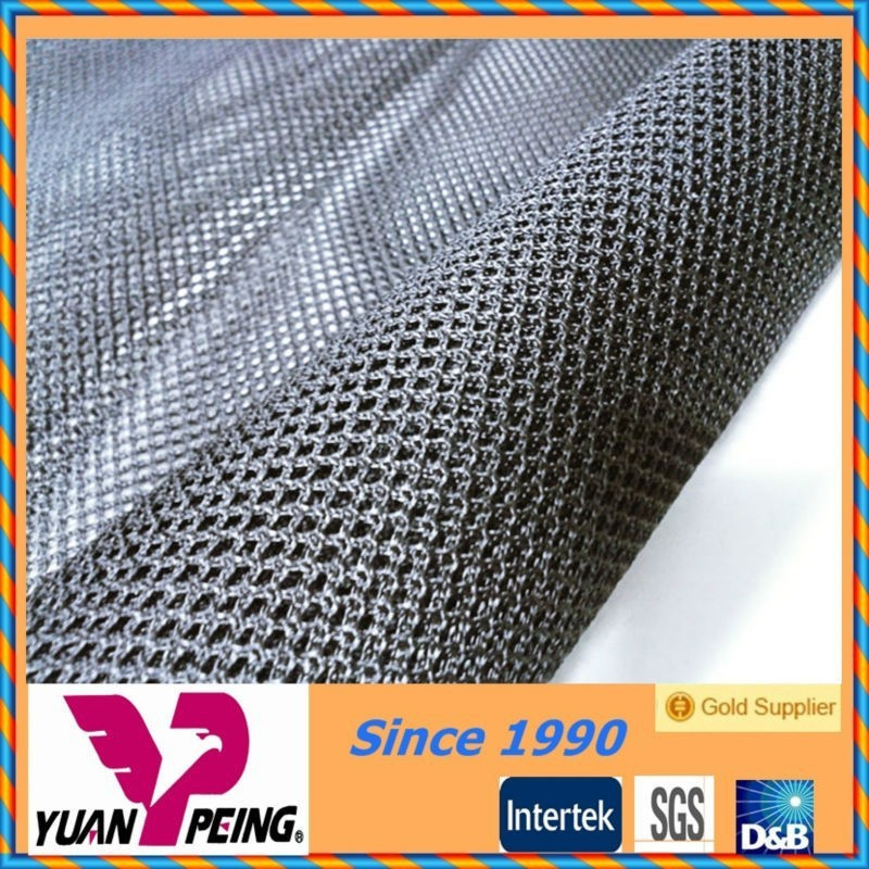 knitted fabric mesh polyester diamond