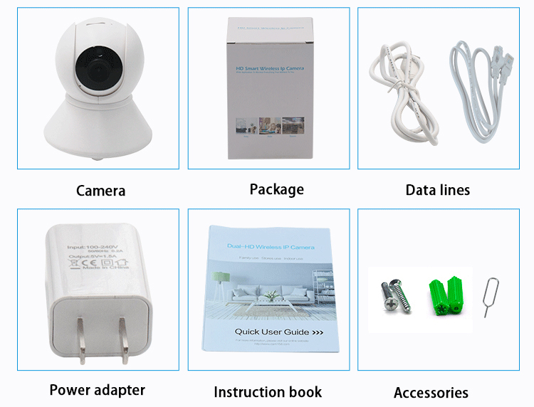 ip camera packing