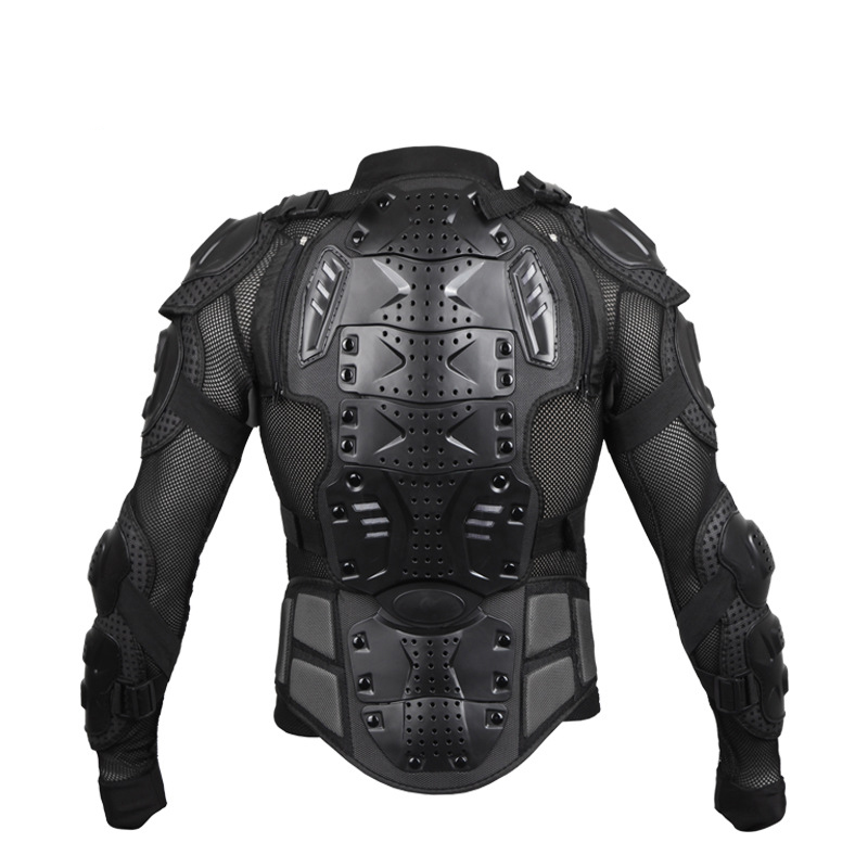 Professional Motorcycle Full Body Riding Protection Armour Armor Jacket Guard Motorcross Racing Clothing ATV Shirt with Back Pro