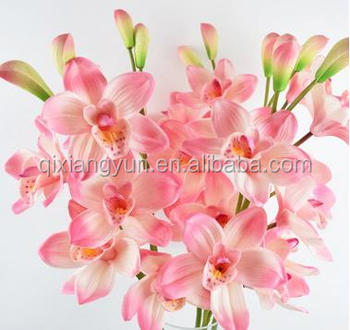 Orchids artificial flower wholesale high quality silk flower hot orchids artificial flower wholesale high quality silk flower hot selling mightylinksfo