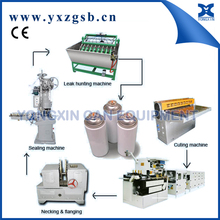 Factory Sale Insecticide Aerosol Spray Paint Can Machine