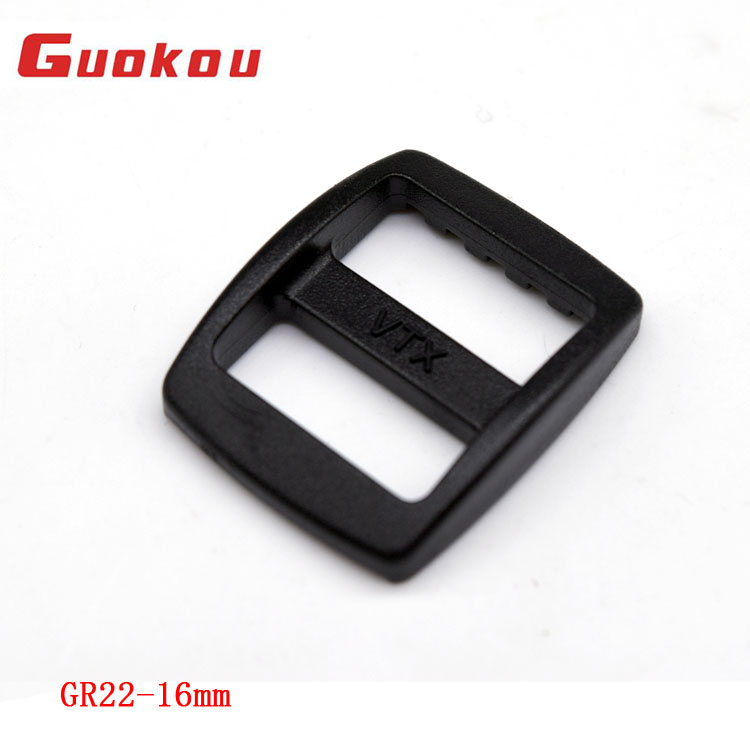 Colored plastic tri glide buckle for camera straps