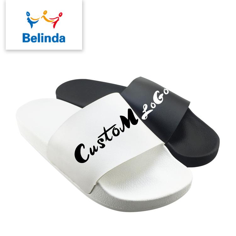 3514d1e43bb4a3 Custom Logo Slide Sandal