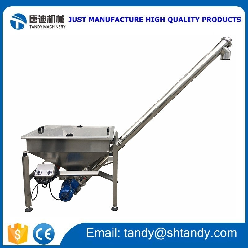 Powder elevator , Hopper conveyor , Flour screw conveyor