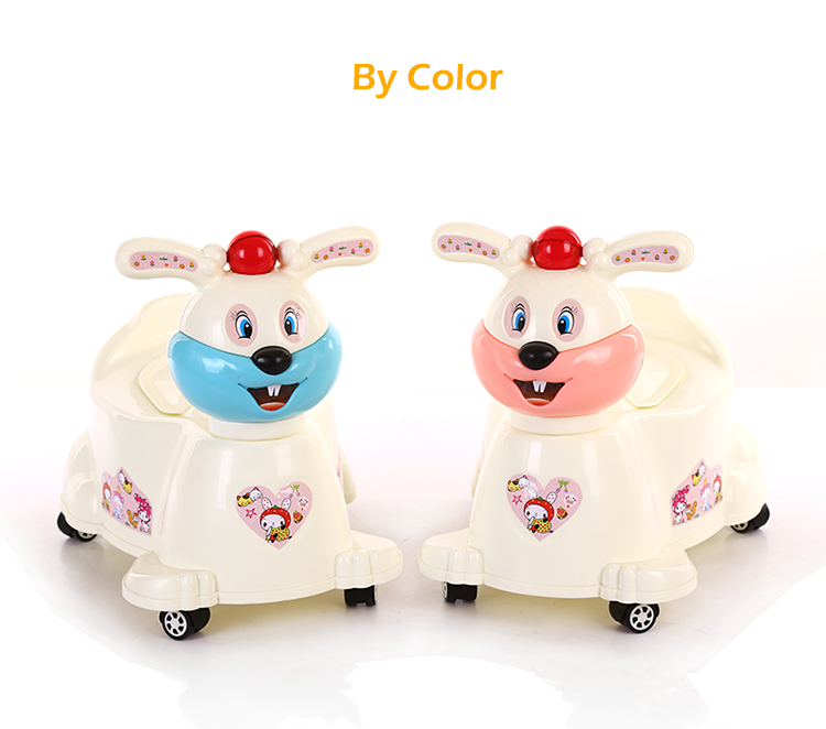 Alibaba Trade Assurance plastic portable baby travel potty ride on car with toilet seat