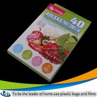 custom printed vacuum bags / frozen food packaging / food vacuum plastic bag