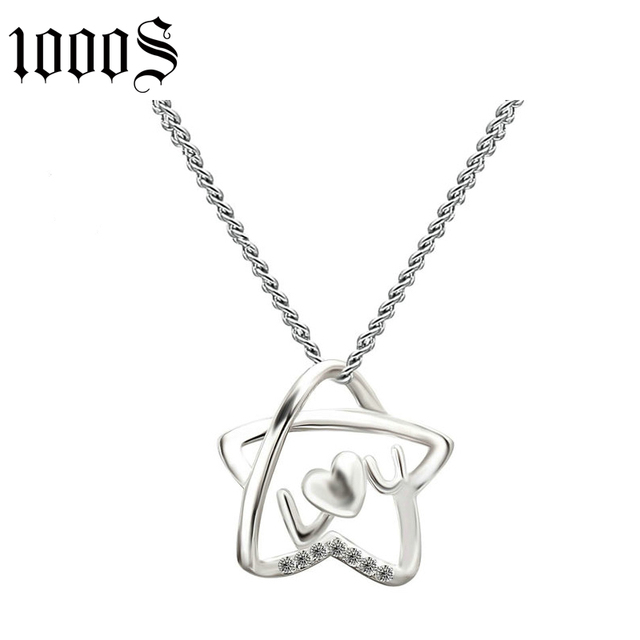 Buy cheap china silver star shaped pendant products find china elegant 925 sterling silver rhodium plating pendants with star shape mozeypictures Choice Image