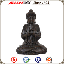 Simple design resin ornament wholesale buddha statues