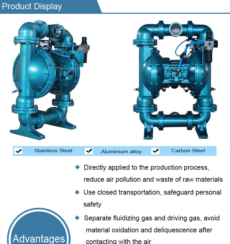 Best price double rubber air operated diaphragm dry powder pump best price double rubber air operated diaphragm dry powder pump ccuart Gallery