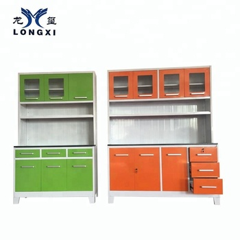 China Factory Whole Commercial Kitchen Cabinet Set View China Kitchen Cabinet Factory Longxi Product Details From Luoyang Longxi Cabinet Industry