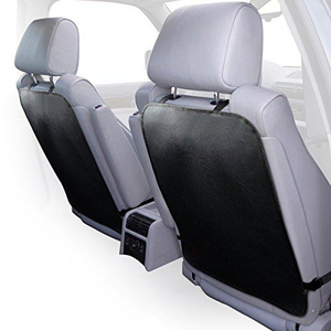 Adjustable Car Seat Back Covers Made Of Durable Fabrics-Top Quality Universal Car Accessories-Value Pack Of 2