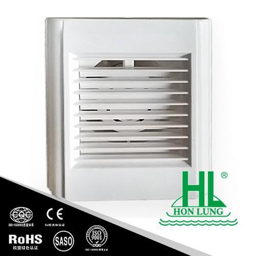 Bathroom Exhaust Fan With Shutter: Obturador Automático Baño Extractor (KHG15-V)-Ventiladores