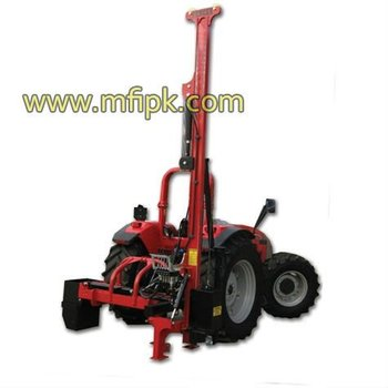Combo Post Driver With Hydraulic Side Shift Buy Fence