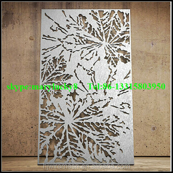 Decorative Laser Cut Metal Screen For Hotel Buy