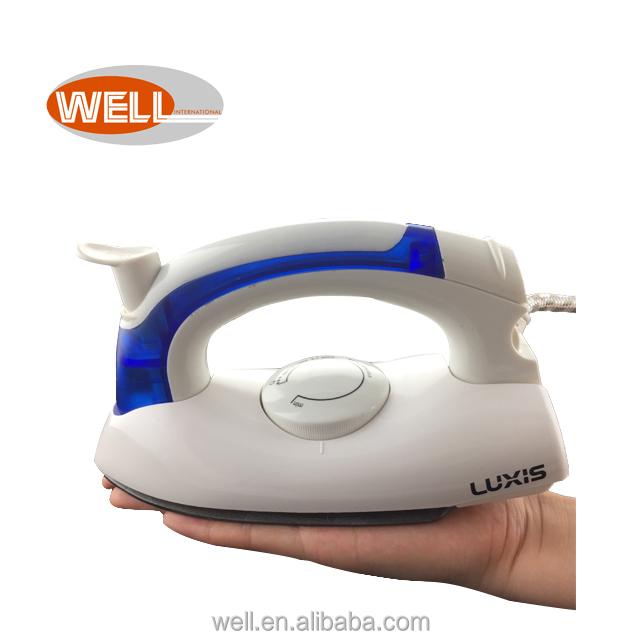 WL-258B  sole plate Mini Travel steam iron laundry steam iron/iron steam 700W detachable transparent water tank