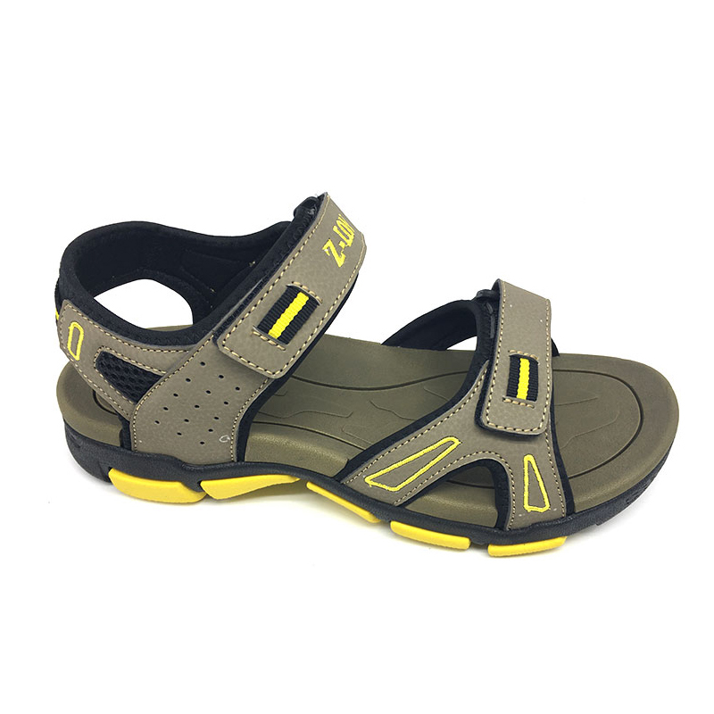 12acc4fa8aaef5 Indian Style Men Leather Sole Sports Sandals - Buy Men Leather Sole Sandals