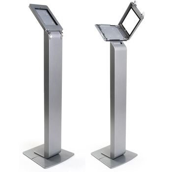 Aluminum Tablet Floor Stand With Lock