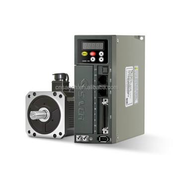 Fuji partner sanch servo motor cnc and servo drive with absolute 17 bits encoder