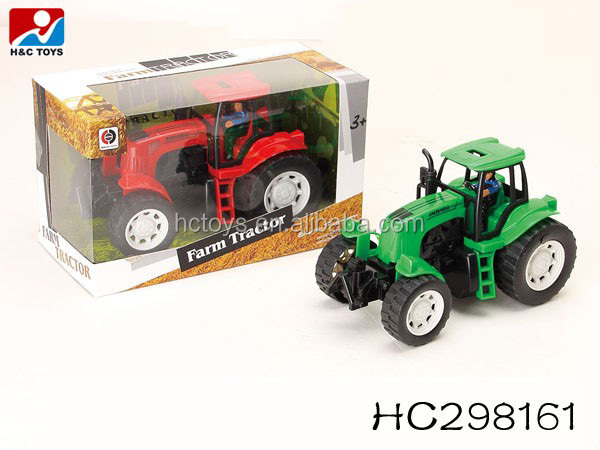 Toy Tractors For Sale >> Hot Item Kids Games Toys Car Plastic Friction Farm Toy Tractors For