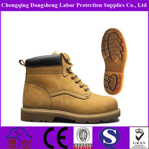 steel toe CE approve goodyear boot soles