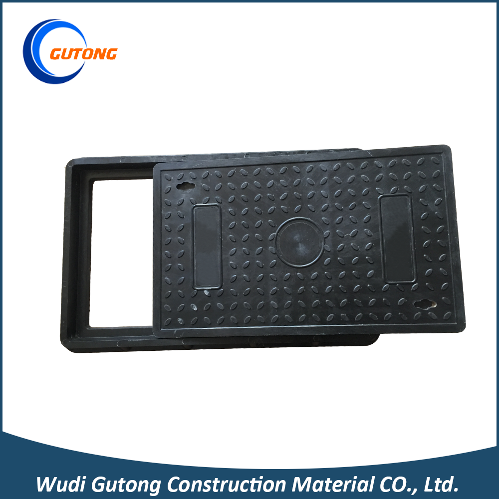 Anti-rust bmc scrap metal polymer trap cover manhole