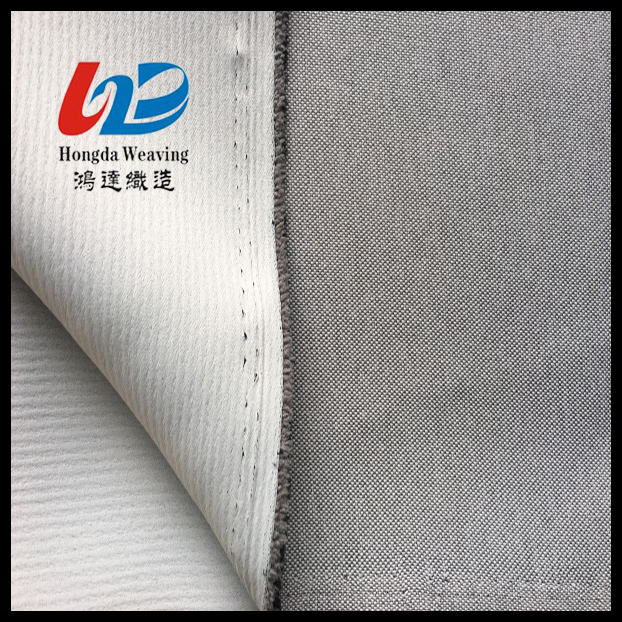 100% Polyester full dull blackout curtain fabric with anti-uv
